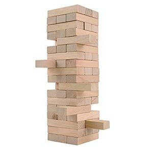 CoolToys Timber Tower Wood Block Stacking Game